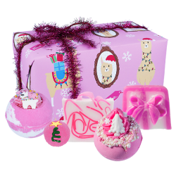 Fleece Navided coffret Cadeau Noël